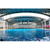 China Energy Savings Prefabricated Steel Structures Swimming Pool Roof Covers on sale