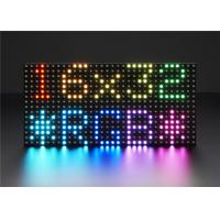 Buy cheap P3 P4 P5 64 * 32 5G System Adjustable 3528 SMD Full Color LED Display Module Indoor Dot Matrix 32 * 16 product