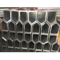 Buy cheap 6061 T6 Polygon Tube Aluminium Frame Profile , Aluminum Extruded Shapes For from wholesalers