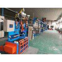 Buy cheap Fast Electric Wire Making Machine / Sky Blue Cable Extrusion Machine product