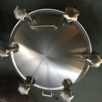Buy cheap Sanitary Pressure Round Outward Manway for Tank product