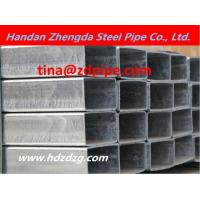 Buy cheap galvanized rectangular steel pipe from Wholesalers