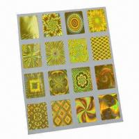 Buy cheap Security/Hologram Stickers/Labels, Automatic Die-cut product