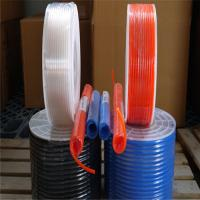PU hose use for air and oil, black, blue and red colour