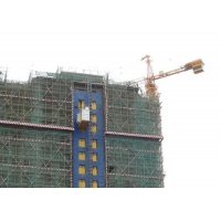 Buy cheap Painted 3000 KG Rack And Pinion Lift Cage Hoist In Construction product