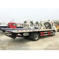 Buy cheap Foton Flat Bed Breakdown Recovery Vehicle , Car Carrier Tow Truck product