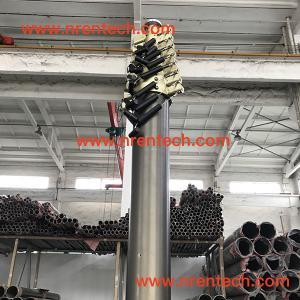 Buy cheap 12m lockable pneumatic telescopic mast 200kg payloads product