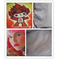 China Polyester Hole Warp Knitted Custom Printed Fabric For Sports Wear on sale