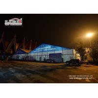 Buy cheap 40x100m Large Outdoor Exhibition Tent with AC Cooling System for Exhibition and Trade Show product