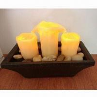 Buy cheap Candle-shaped Indoor Fountain product