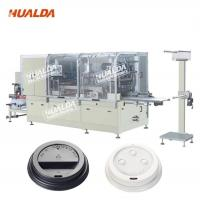 Buy cheap Custom Design 22 KW Cup Lid Forming Machine 10 - 35 Times / Min  Max Cutting Speed product