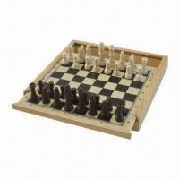 Buy cheap Wooden Chess, Measures 21 x 21 x 3cm product
