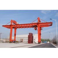 Buy cheap Movable Double Girder Gantry Crane 50Ton Container Cabin Pendant Remote Control product