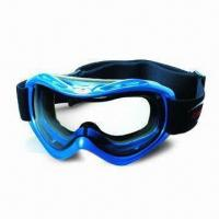 Buy cheap Anti-fog Ski Goggles with Elastic Jacquard Strap product