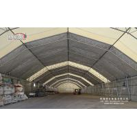 Buy cheap Aluminum Curve Portable Aircraft Hangars Construction A Frame Snow Resistance from Wholesalers