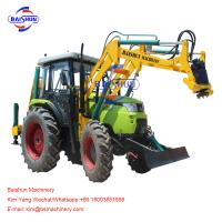 Buy cheap Wire Rod Tractor Mounted Post Hole Digger / Large Pole Drilling Equipment from wholesalers
