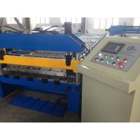 Custom Cold Roof Panel Roll Forming Machine , Metal Sheet Rolling Machine