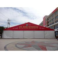 Rooftop Outside Custom Event Tent Logo Available For Large Scale Exhibition