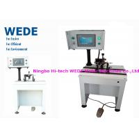 Buy cheap Impeller / Rotor Balancing Machine , Armature Balancing Machine With Weight Adding Style product