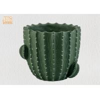Quality Green Color Cactus Flower Pots Homewares Decorative Items Succulents Plant Pots for sale