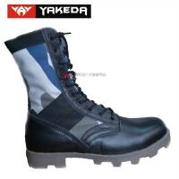 Buy cheap Military Sport Tactical Combat Boots Anti - Static Genuine Leather product