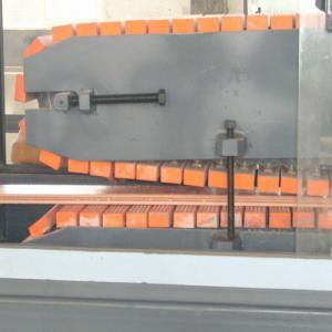 PP / PE Wood Fiber WPC Profile Production Line For Pallet Profile,packing pallet profiles,door frame profiles