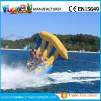 Buy cheap Digital Printing Inflatable Boat Toys Flying Fish Boat One Years Warranty product