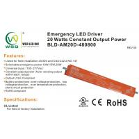 Buy cheap 90 minutes backup 20 W Emergency Battery Driver for led lights  // BLD-AM20D-480800 product