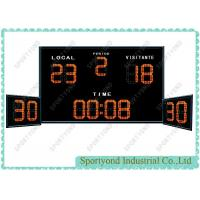 Quality Electronic Water Polo Scoreboard With Shot Timer for sale