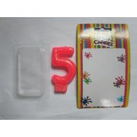 Buy cheap Smokeless Number Birthday Candles With Golden Glitter Powder On The Surface product