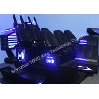 Buy cheap 6DOF Electric System 6 Seats 9D Cinema Simulator With Virtual Reality Games from wholesalers