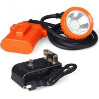 Buy cheap High Powered LED Miners Cap Lamp / Coal Miners Headlamp With Rechargeable Battery product