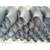 Round 90 Degree Butt Welding Galvanized  Steel Tube Elbows , DIN EN 10253