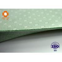 Buy cheap Laminated Nonwoven Fabric Needle Punched Felt Backing With PVC Dots 4m Width product
