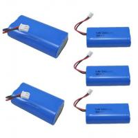 Buy cheap 7.4V 2600mAh Mobile Warming Battery For Heated Jackets / Vests , 1C Discharge Rate product
