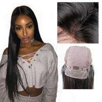 China Natural Black Remy Long Lace Front Wigs Human Hair 100% Unprocessed Good Feeling on sale