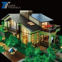 China Beautiful miniature building model , architectural house model on sale