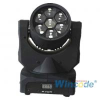 China Smart Control LED Moving Head Light 7*10W 0-100% Linear Dimmer With 16 Bit on sale