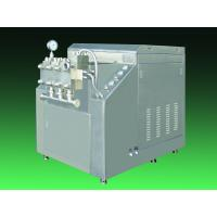 Energy Saving Food Sterilization Equipment Juice Milk Homogenizer Machine