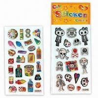 Buy cheap 3-D Dome Stickers, Suitable for Promotional Purposes, Various Designs are Available product