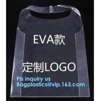 Quality Transparent pvc handle plastic bag with logo, promotional clear tote pvc handle shopping bag pvc tote bag, underwear clo for sale