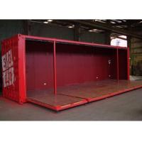Buy cheap foldable wall panel doors 40 HQ modified shipping container house product