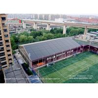 Buy cheap 3m-60m Width aluminum and PVC white clear span tent for outside sport events product