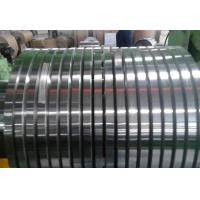 Buy cheap Customized Thin Aluminum Strips Natural Color High Machining Precision product