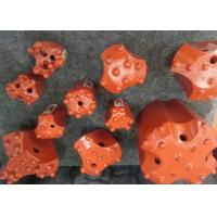 Buy cheap Domed Reaming Thread Rock Drill Bits / Rock Drilling Tools Spherical Ballistic Carbide Shape product
