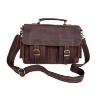 Buy cheap New Style Real Leather Handbag Briefcase Messenger Bag product
