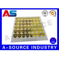 Buy cheap PET Custom Holographic Stickers 3d Holographic Stickers Anti - Counterfeiting product