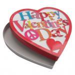 Buy cheap Glossy Lamination Custom Packing Boxes , Heart Shaped Chocolate Box product