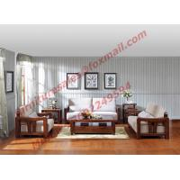 Buy cheap High Quality Solid Wooden Frame with Upholstery Sofa Set product