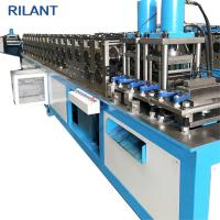 Buy cheap Sheet Metal Cold Roll Forming Machine U Shape Steel Material 2T Weight product